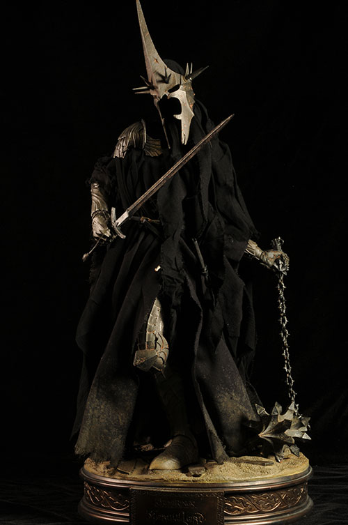 Morgul Lord Ringwraith Lord of the Rings Premium Format statue by Sideshow Collectibles
