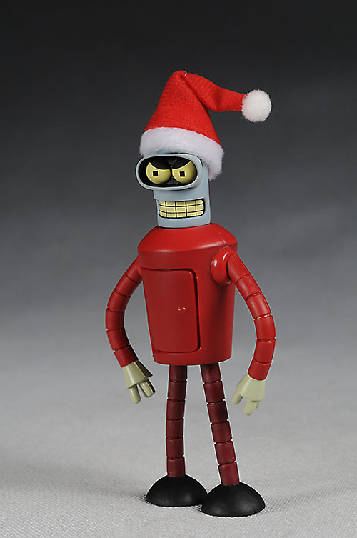 Futurama Santa Bender action figure