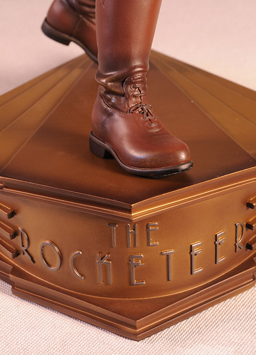 The Rocketeer Premium Format Statue by Sideshow Collectibles