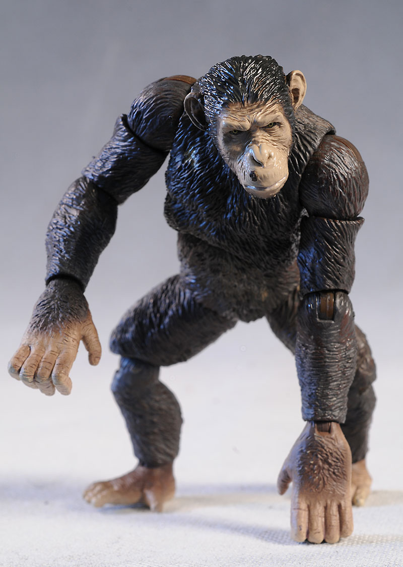Rise of the Planet of the Apes Caesar action figure by Hiya Toys