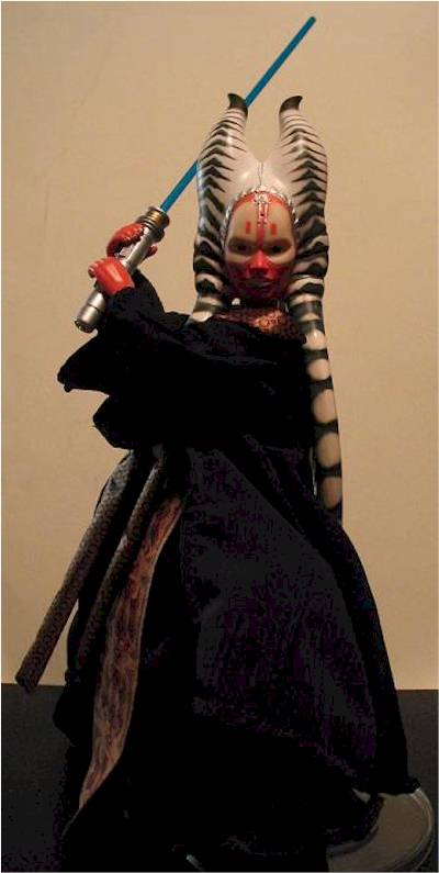 12 Inch Shaak Ti And Grievous Action Figures Another Toy