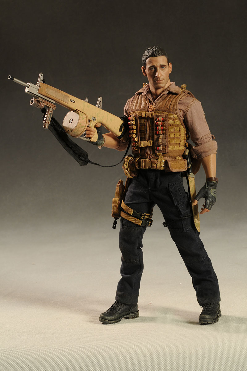 Predators Royce sixth scale action figure by Hot ToysHot Action Figure
