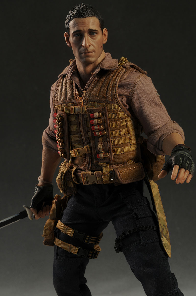 Predators Royce sixth scale action figure by Hot Toys