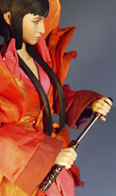 Saizo Kirigakure and Chacha Asai Goemon sixth scale action figures by Hot Toys