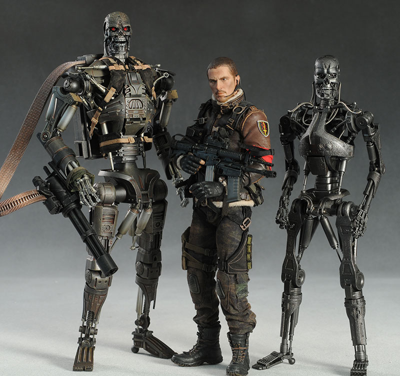 T 600 Terminator Salvation John Connor T-600 Terminator