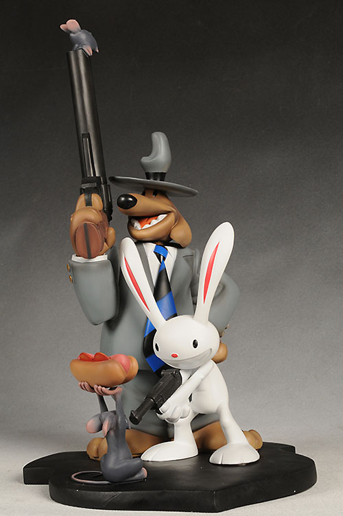 Sam and Max statue from Symbiote Studios