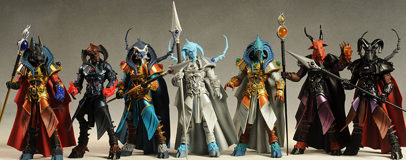Scarabus Fantastic Exclusive action figures by the Four Horsemen