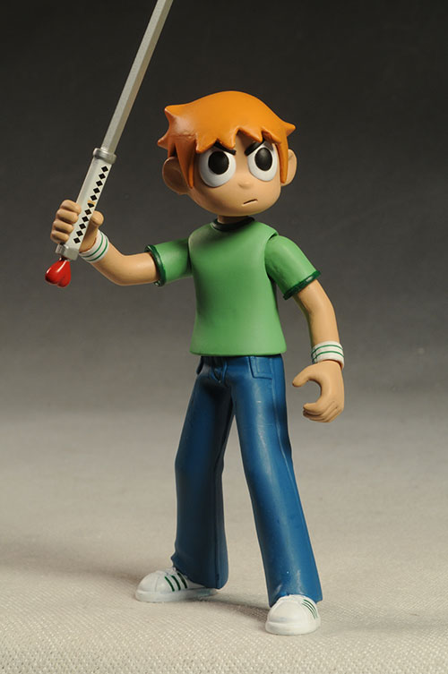 Scott Pilgrim vs the World action figures by Mezco Toyz