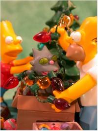 bradford editions simpsons christmas ornaments