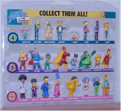 Greetings from Springfield Simpsons waves 4, 5 and 6 action figures