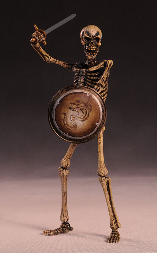 Skeleton Warrior Ray Harryhausen Jason and the Argonauts sixth scale action figure