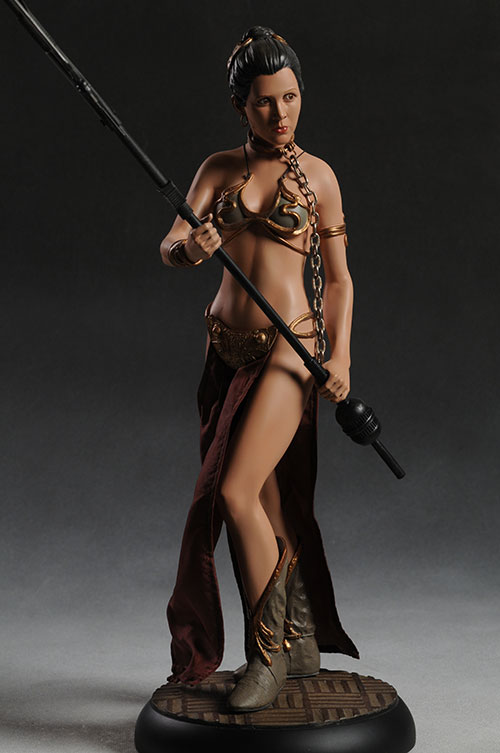 Slave Leia Premium Format statue from Sideshow Collectibles