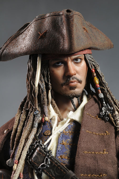 Jack Sparrow DX06 sixth scale action figure by Hot Toys