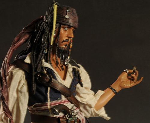 Jack Sparrow Pirates of the Caribbean Premium Format statue by Sideshow Collectibles