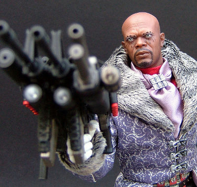 Spirit and Octopus sixth scale action figures by Hot Toys