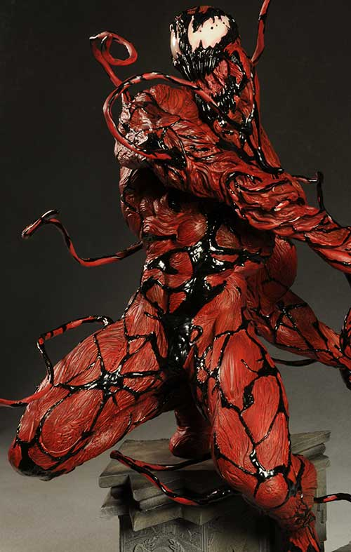 Carnage comiquette statue by Sideshow