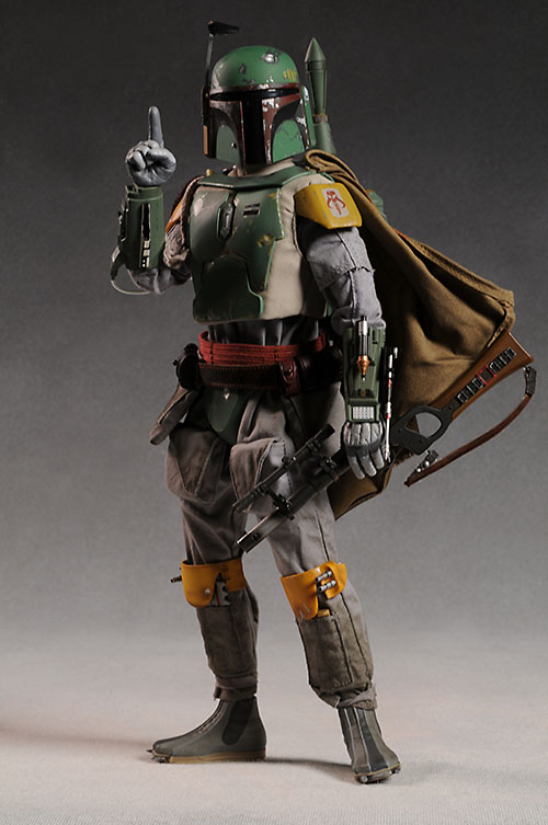 Boba Fett Star Wars sixth scale action figure by Sideshow