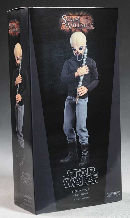 Figrin D'an Star Wars action figure by Sideshow Collectibles