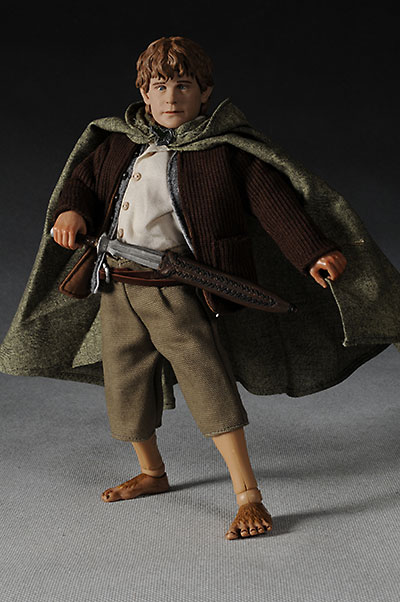 Sideshow Collectibles Lord of the Rings Sam action figure