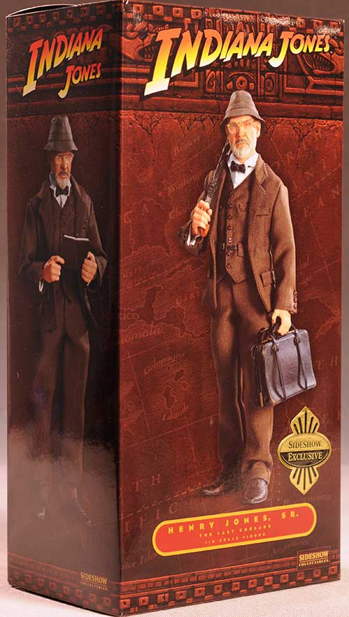 Professor Henry Jones Sr. Indiana Jones sixth scale action figure by Sideshow Collectibles