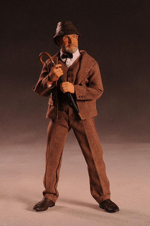 Henry Jones Sr. Indiana Jones sixth scale action figure by Sideshow Collectibles