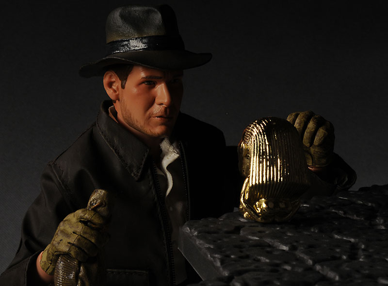 Indiana Jones sixth scale 12 inch action figure from Sideshow Collectibles