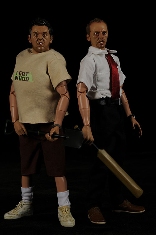Sideshow Collectibles Shaun of the Dead action figures