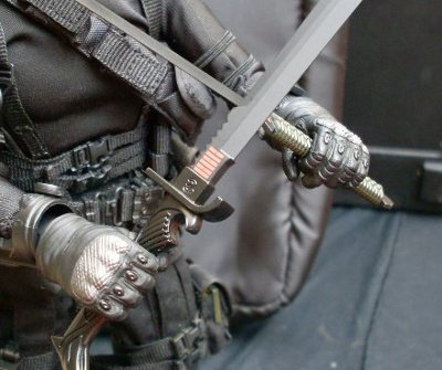 G.I. Joe Snake Eyes sixth scale action figure from Sideshow Collectibles