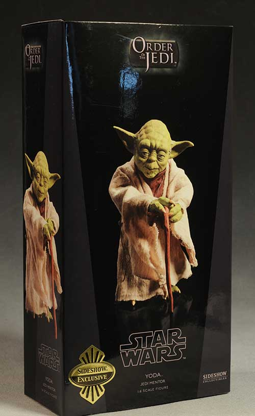 Yoda Star Wars action figure by Sideshow Collectibles