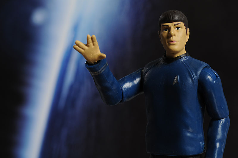 Spock Star Trek action figures from Playmates