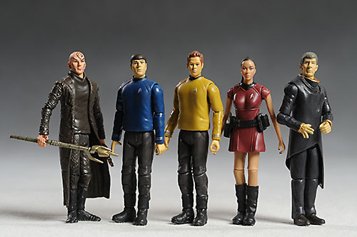 Star Trek action figures from Playmates
