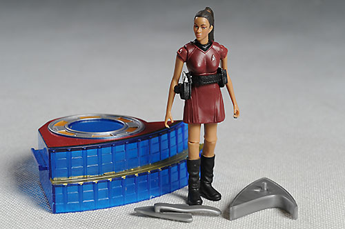 Uhura Star Trek action figures from Playmates