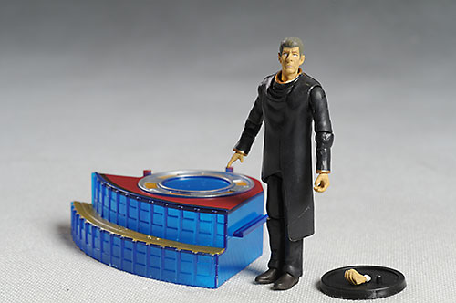 Old Spock Star Trek action figures from Playmates