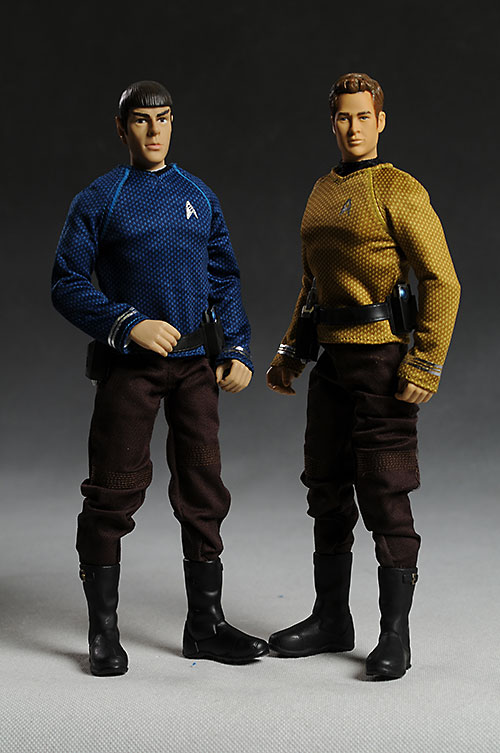 Star Trek Kirk and Spock sixth scale action figure by Playmates