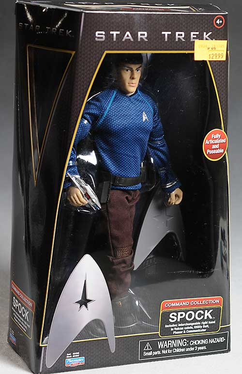 Star Trek Spock sixth scale action figure by Playmates