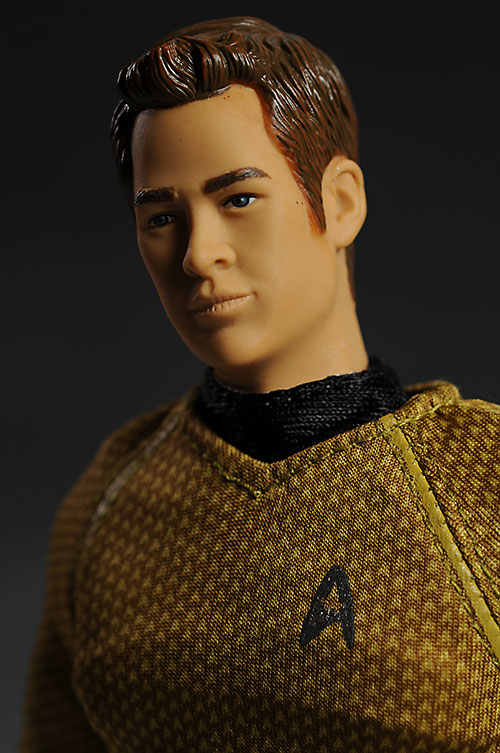 Star Trek Kirk sixth scale action figure by Playmates