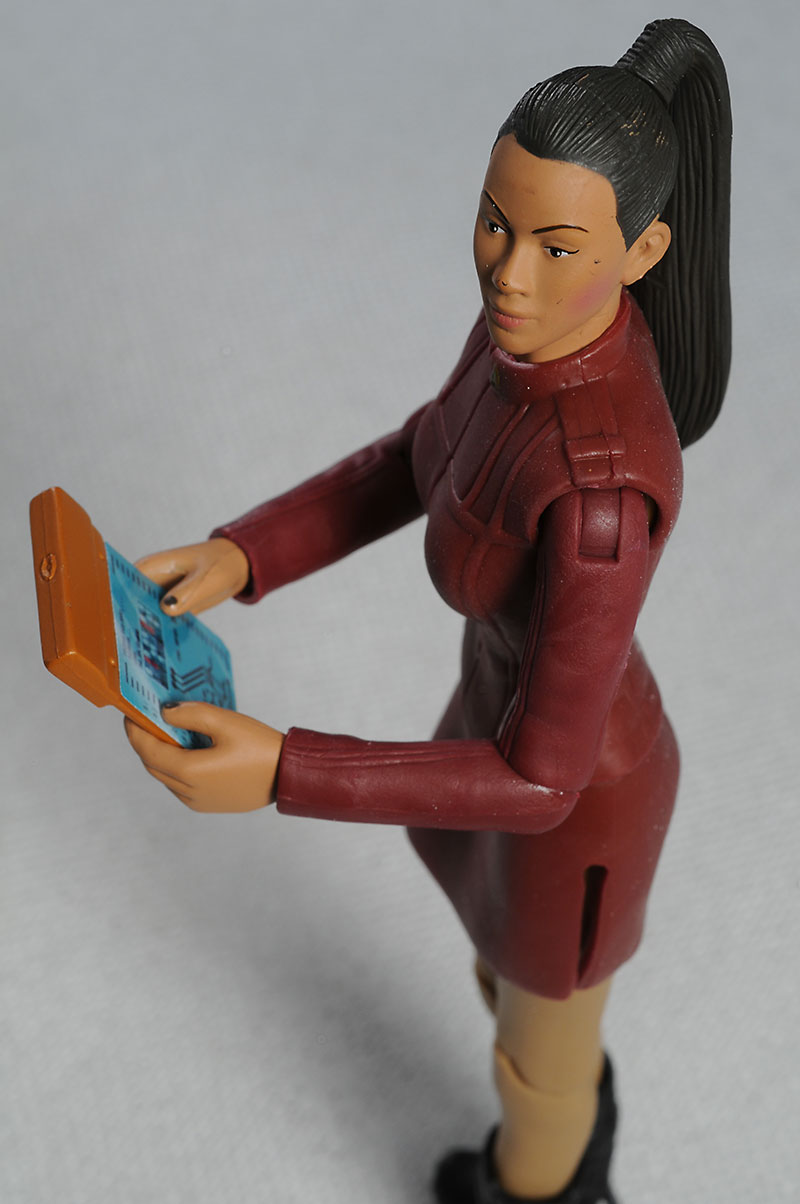 Uhura Star Trek Warp Collection 6 inch action figure by Playmates Toys