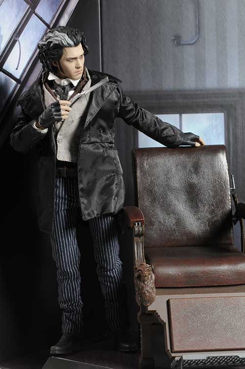 Sweeney Todd Action Figure Another Pop Culture