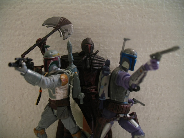 Boba Fett Legacy Collection Evolution set by Hasbro