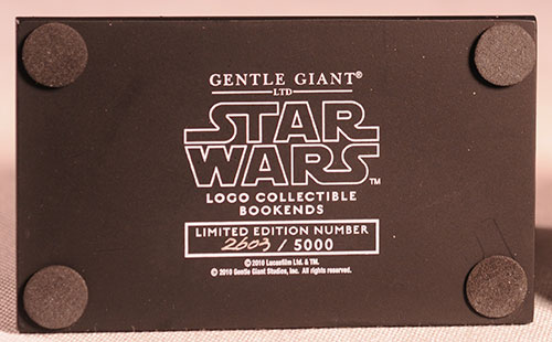 Star Wars Logo bookeneds by Gentle Giant