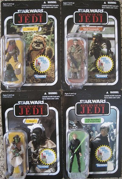 Return of the Jedi Vintage Star Wars action figures by Hasbro