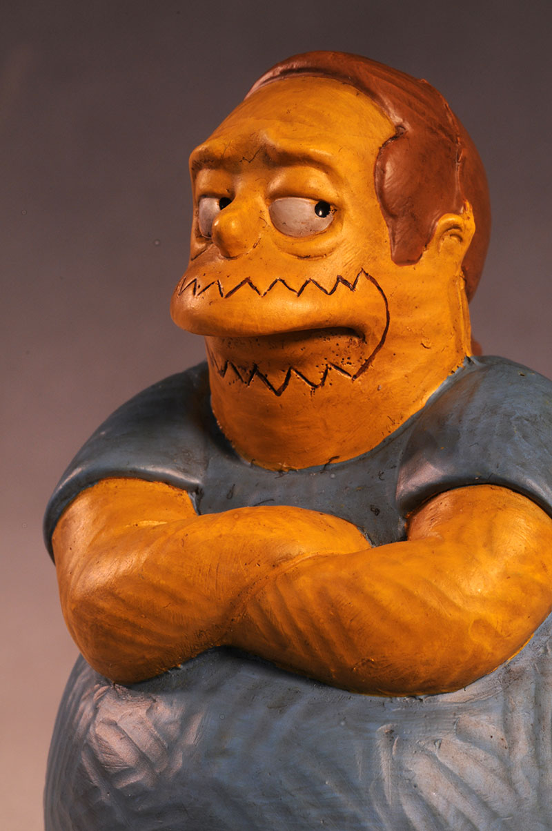 Comic Book Guy Syroco style Simpsons statue by Dark Horse Comics
