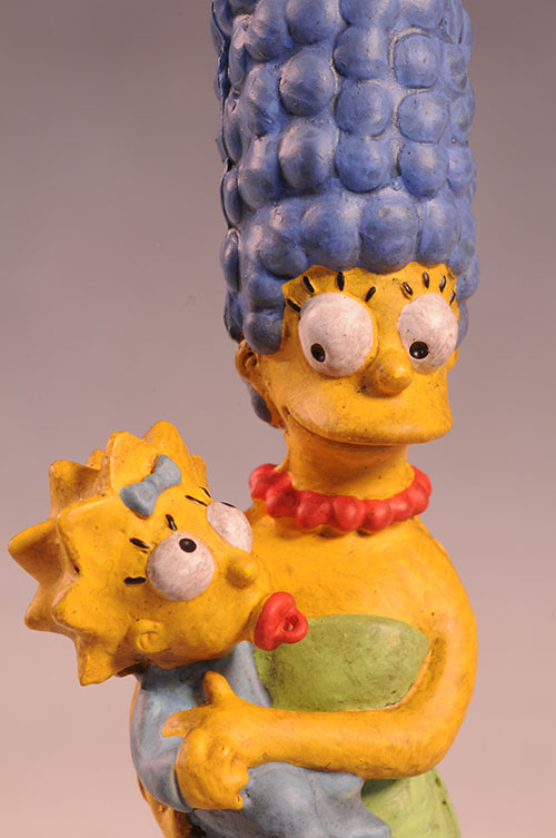 Marge Maggie Simpson Syroco style Simpsons statue by Dark Horse Comics