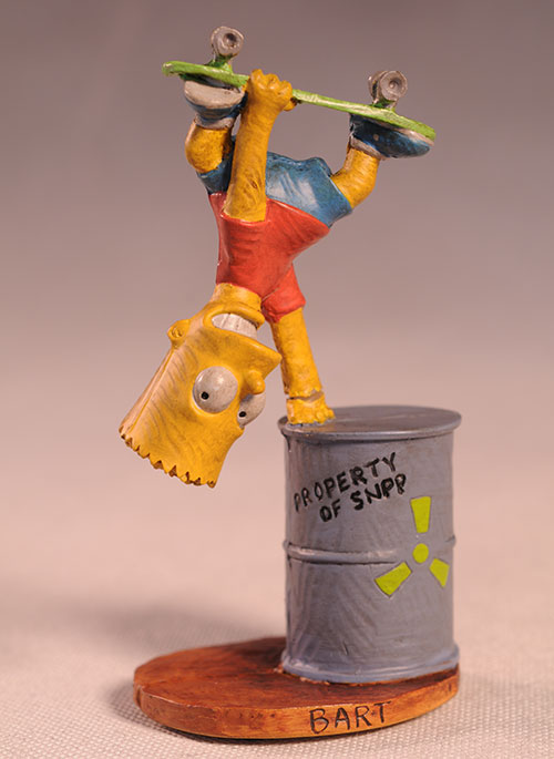 Bart Simpson Syroco style Simpsons statue by Dark Horse Comics