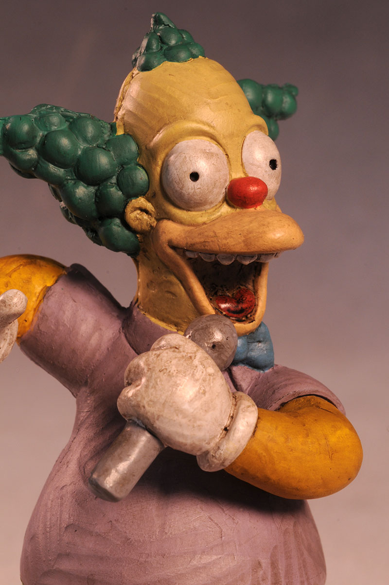 Krusty Syroco style Simpsons statue by Dark Horse Comics