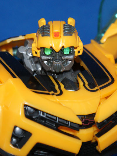 Transformers Bumblebee action figure toy by Hasbro