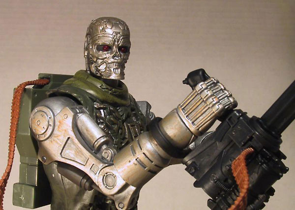 Terminator T-600 10 inch action figure by Playmates