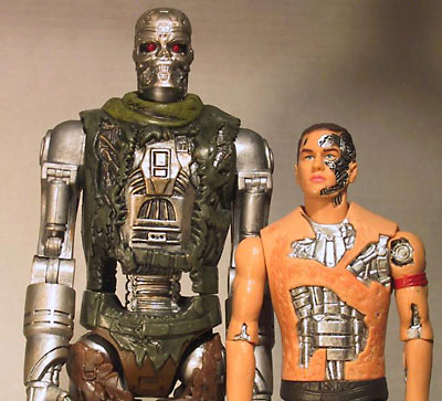 Terminator: Salvation action figures by Playmates Toys