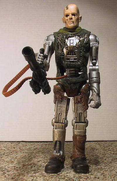 Terminator: Salvation T-600 action figure by Playmates Toys