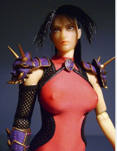 Soul Caliber Taki sixth scale action figure from Triad Toys